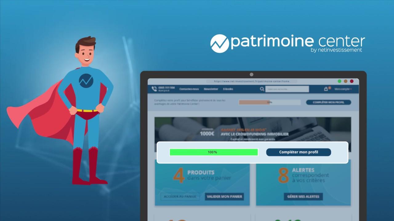 Présentation du Patrimoine Center | Netinvestissement