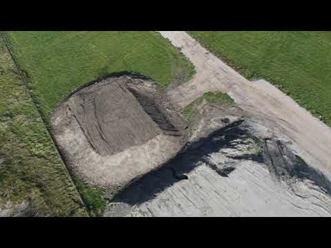 3D model for stockpile measurements - Atmos UAV