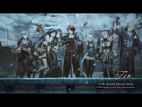 Ys IX/イース9 -Monstrum Nox- Walkthrough part 26: Ending