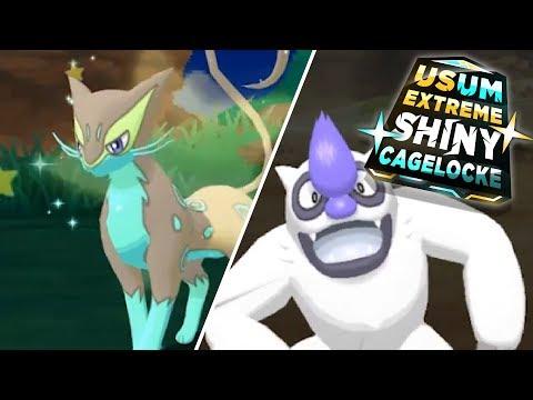 EXTREME SHINY SLAKING! NO TRUANT?! Pokemon Extreme Shiny CageLocke!