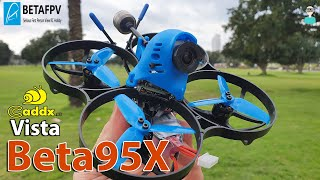 Betafpv Beta95x Caddx Vista Whoop - Review, Setup & Flight Footage
