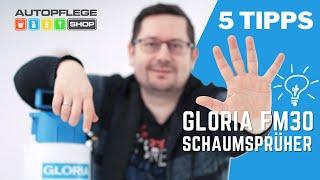 Top 5 Tipps zum GLORIA FM30 Schaumspüher