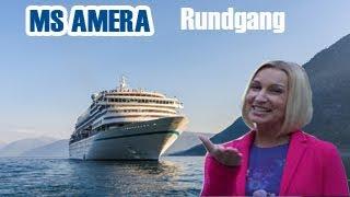 MS Amera: Schiffsrundgang