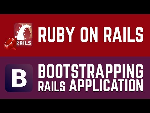 Learn Rails 5 Programming   Bootstrapping Rails Application