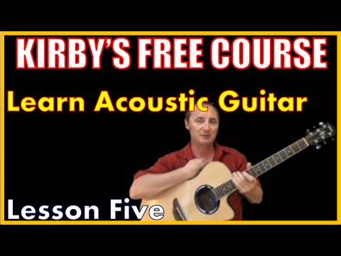 Free Guitar Course - Lesson 5
