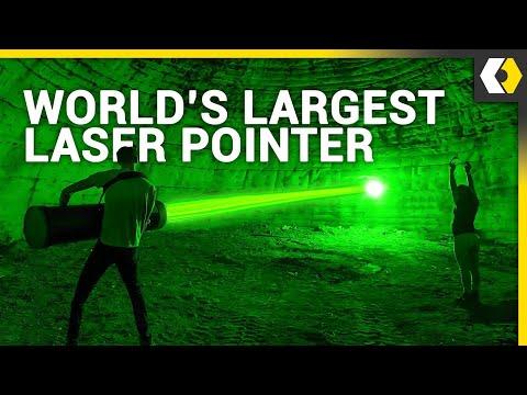 World's Largest Laser Pointer?