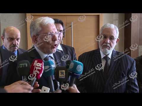 مؤتمر صحفي مشترك لوزير الخارجية مع أمين عام اتحاد المغرب العربي