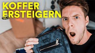 Ich habe VERLORENE KOFFER für 750€ ersteigert... TEIL 2 | HerrDavid