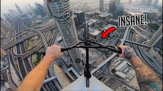 INSANE BMX RIDING ON DUBAI ROOFTOP!