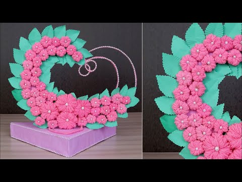 DIY – Gifts Ideas || Heart Showpiece DIY || How to Make Heart Showpiece || Beautiful Heart showpiece