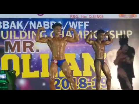NABBA 2019 MR KOLLAM TITLE SUB JUNIOR