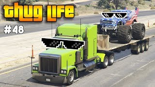 Download Video GTA 5 ONLINE : THUG LIFE AND FUNNY MOMENTS (WINS, STUNTS AND FAILS #48) MP3 3GP MP4