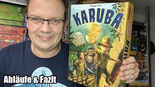 Karuba (Haba) - Familienspiel für Jung und Alt ab 8 Jahren - Abläufe/Fazit