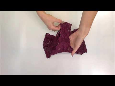 Nádherné kalhotky Idillia shorties purple - Obsessive