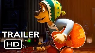 Rock Dog Official Trailer 1 2017 Luke Wilson Eddie Izzard Animated Movie HD
