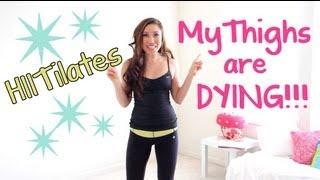 Для самых модных девчонок, HIITilates: My Thighs are Dying!