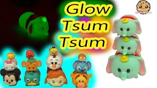 DIY Nail Polish Painting Craft Glow In The Dark Disney Tsum Tsum Do It Yourself Video