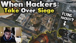 When Hackers Take Over Siege! - Rainbow Six Siege