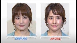 BeauTV~VOCE6/16憧れメーク「やさしくて透明感のあるオトナ顔石田ゆり子風メーク」