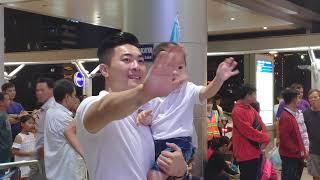 Bắp Tiễn Mẹ MC Hồng Phượng đi Hàn Quốc..!!😊😊❤❤ QUỐC CƠ HỒNG PHƯỢNG