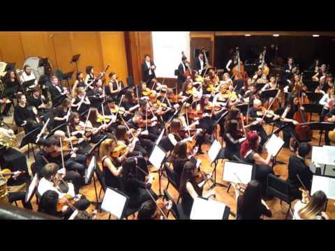Georges Bizet - Entr`acte ; Farandole , simfonijski orkestar FMU