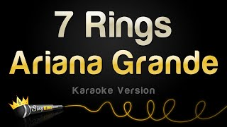 Ariana Grande   7 Rings (Karaoke Version)