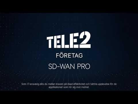 SD-WAN Pro Tele2 Företag
