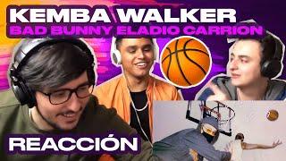 [Reacción] Kemba Walker   Eladio Carrion X Bad Bunny   ANYMAL LIVE 🔴