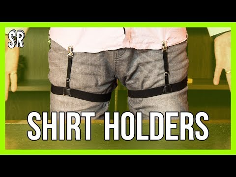 Shirt Holder Review | How To Keep A Smart Shirt Tucked In All Day | Review Mp3