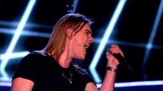 The Voice UK 2013   Mitchel Emms Performs 'Best Of You' - Blind Auditions 3 - BBC One