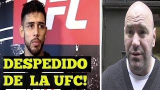 Yair Rodriguez DESPEDIDO de la UFC por no aceptar pelear vs Zabit Magomedsharipov