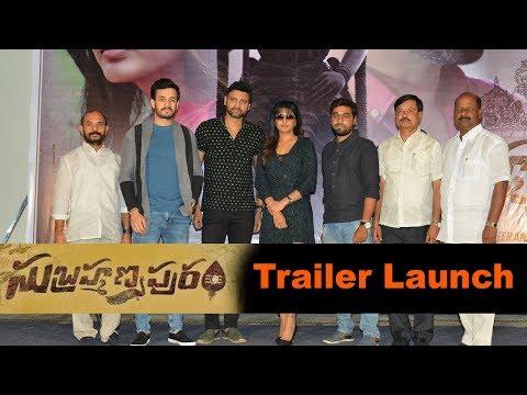 Subramanyapuram Movie Trailer Launch Event