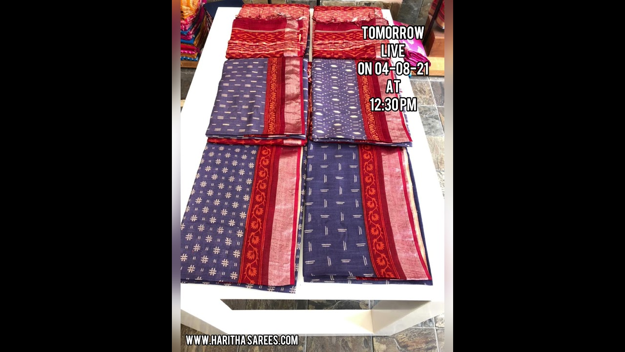 """<p style=""""color: red"""">Video : </p>Promo On Tomorrow's Live On Linen Prints (4-08-21) 2021-08-04"""