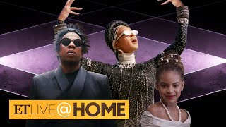 Beyonce's Black Is King CAMEOS: Blue Ivy, JAY-Z and Rumi & Sir! | ET Live @ Home
