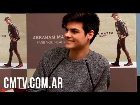 Abraham Mateo video Entrevista CM - Noviembre 2015 - Argentina