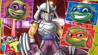 🌟Tortugas Ninja Mutantes Half Shell Heroes - Juego para Niños - Batalla Final Contra Despedazador