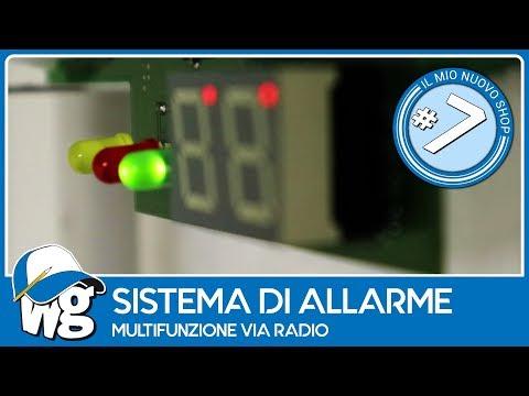 Sistema di allarme radio multifunzione