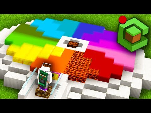 I spun the DANGER WHEEL and it killed everyone... (Minecraft Cube SMP Live #1)