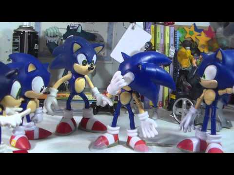 Sonic Stop Motion World: Articulation Matters