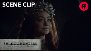 Shadowhunters | Season 2, Episode 19: The Seelie Queen Meets With Valentine | Freeform