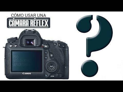 ¿Cómo usar una cámara réflex?