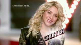 The Voice Season 4 - New Judge Shakira
