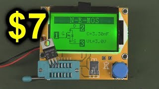 EEVblog #1020   Is A $7 LCR  Component Tester Any Good?