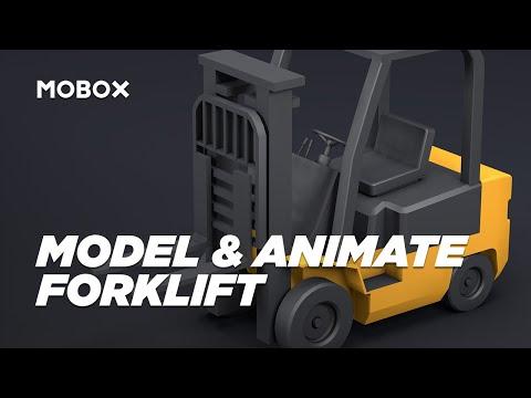 Model & Animate a Forklift – MAXON Cinema 4D (Tutorial)