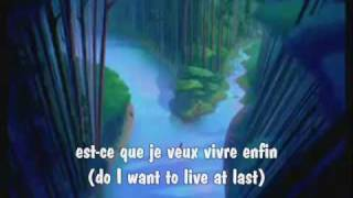 Just Around the Riverbend (Canadian French) w/ subs & translations