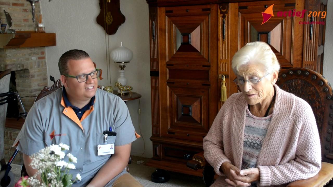 Op bezoek bij mevrouw van Oirschot - Pijnenburg met Paul Arnold