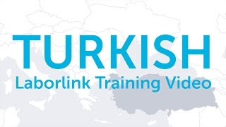 Laborlink Training Video (Turkish)