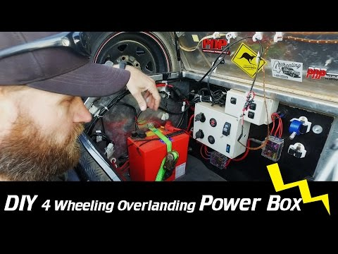 DIY Electrical Overland Box