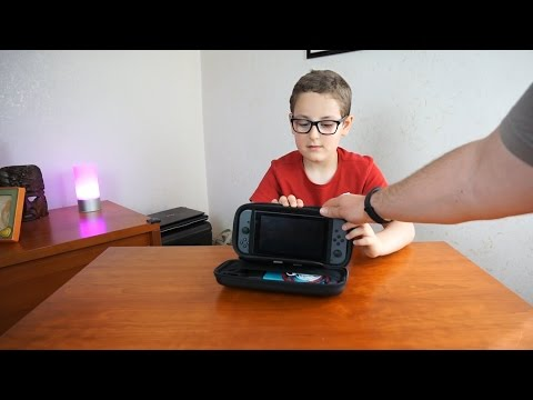 Custodia per Nintendo Switch ottima e con tanti accessori