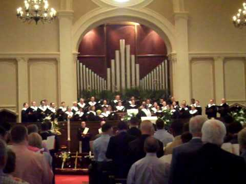 Easter 2009 Processional, St. Mark United Methodist Church, Atlanta, GA